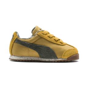 Thumbnail 5 of PUMA X TINYCOTTONS Roma Infant Sneakers, Arrowwood-Thyme-White, medium
