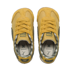 Thumbnail 6 of PUMA X TINYCOTTONS Roma Infant Sneakers, Arrowwood-Thyme-White, medium
