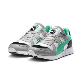 Thumbnail 2 of RS-100 Re-Invention Trainers, GrayViolet-BiscayGreen-White, medium