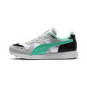 Thumbnail 1 of RS-100 Re-Invention Trainers, GrayViolet-BiscayGreen-White, medium