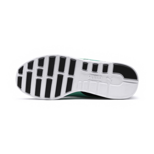 RS-100 Re-Invention Trainers, GrayViolet-BiscayGreen-White, large