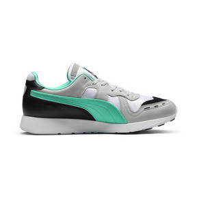 Thumbnail 5 of RS-100 Re-Invention Trainers, GrayViolet-BiscayGreen-White, medium
