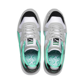Thumbnail 6 of RS-100 Re-Invention Trainers, GrayViolet-BiscayGreen-White, medium