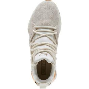 Thumbnail 5 of Muse Maia Util Women's Sneakers, White-Metallic Bronze, medium