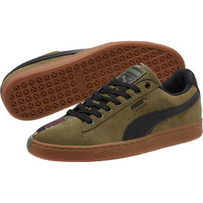 Thumbnail 2 of Suede SP Sneakers, Burnt Olive-Puma Black, medium