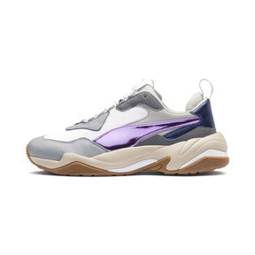 Thumbnail 1 of Thunder Electric Women's Sneakers, White-Pink Lavender-Cement, medium