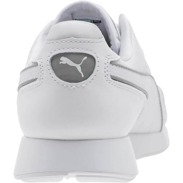 RS-100 Optic Men's Sneakers, P White-P Silver-Puma White, large