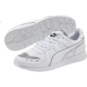 Thumbnail 2 of RS-100 Optic Men's Sneakers, P White-P Silver-Puma White, medium