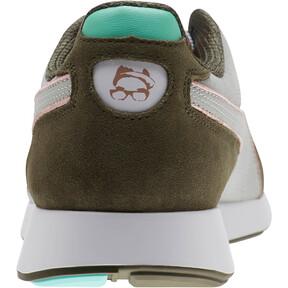 Thumbnail 4 of PUMA x Emory Jones RS-100 Sneakers, Puma White-Forest Night, medium