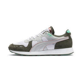 Thumbnail 1 of PUMA x Emory Jones RS-100 Sneakers, Puma White-Forest Night, medium