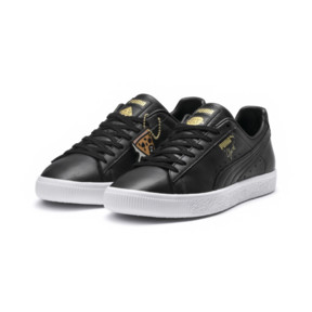 Thumbnail 2 of PUMA x TYAKASHA Clyde Sneakers, Puma Black, medium
