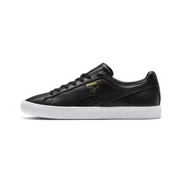 PUMA x TYAKASHA Clyde Sneakers, Puma Black, large