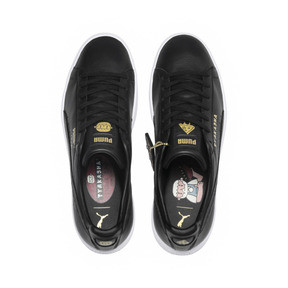 Thumbnail 7 of PUMA x TYAKASHA Clyde Sneakers, Puma Black, medium