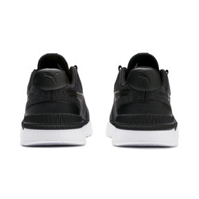 Thumbnail 3 of Pacer Next FS Knit Kids' Trainers, Puma Black-Puma Silver, medium