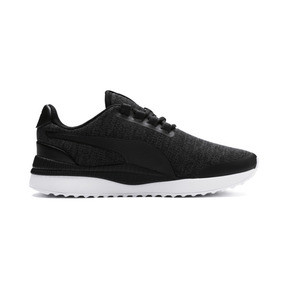 Thumbnail 5 of Pacer Next FS Knit Kids' Trainers, Puma Black-Puma Silver, medium