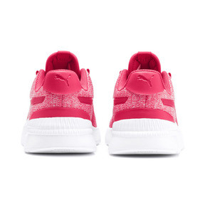 Thumbnail 3 of Pacer Next FS Knit Kinder Sneaker, Nrgy Rose-Puma White, medium