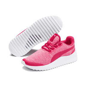 Thumbnail 2 of Pacer Next FS Knit Kinder Sneaker, Nrgy Rose-Puma White, medium