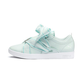 Thumbnail 1 of PUMA Smash Women's Buckle Sneakers, Fair Aqua-Puma White, medium