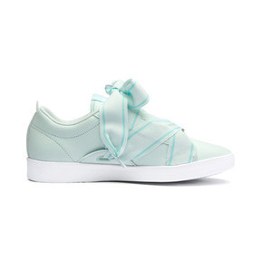Thumbnail 5 of PUMA Smash Women's Buckle Sneakers, Fair Aqua-Puma White, medium