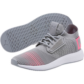 Thumbnail 2 of Uprise Color Shift Women's Sneakers, Quarry-KNOCKOUT PINK-White, medium