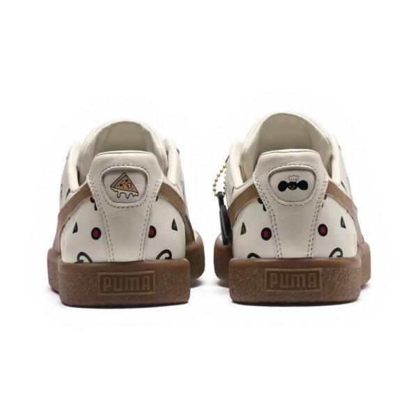PUMA x TYAKASHA Clyde Graphic Sneakers, Birch, large
