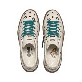Thumbnail 7 of PUMA x TYAKASHA Clyde Graphic Sneakers, Birch, medium
