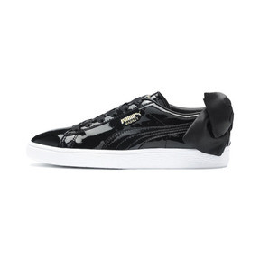 Basket Bow Patent Women's Trainers