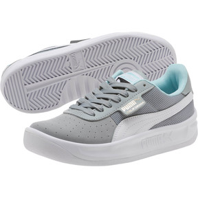 Thumbnail 2 of California Casual Sneakers JR, Quarry-Puma White- Gold, medium