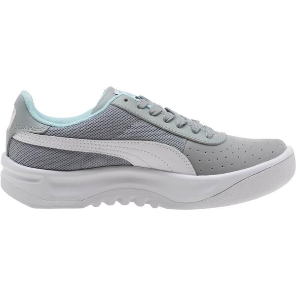 California Casual Sneakers JR, Quarry-Puma White- Gold, large