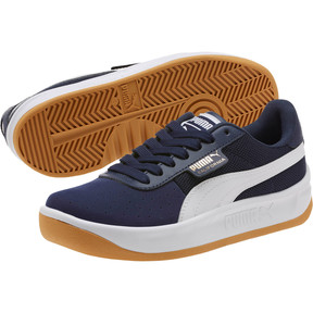 Thumbnail 2 of California Casual Sneakers JR, Peacoat-Puma White- Gold, medium