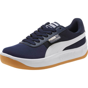 Thumbnail 1 of California Casual Sneakers JR, Peacoat-Puma White- Gold, medium