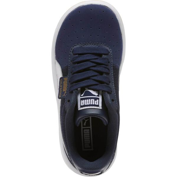California Casual Sneakers PS, Peacoat-Puma White- Gold, large