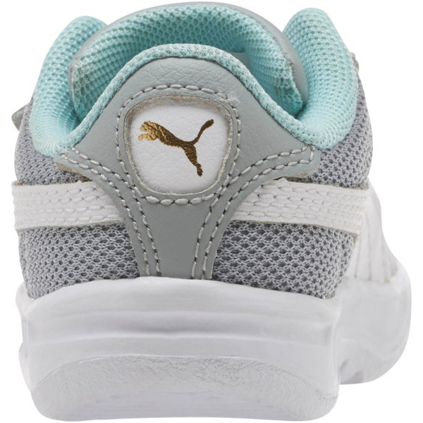 California Casual Sneakers INF, Quarry-Puma White-Gold, large