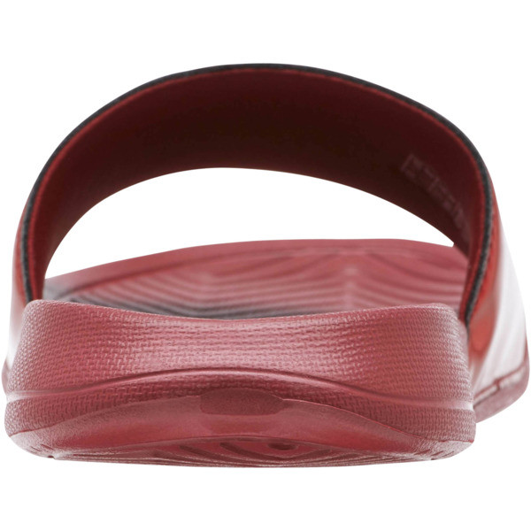 Popcat Chrome Women's Slides, Pomegranate, large