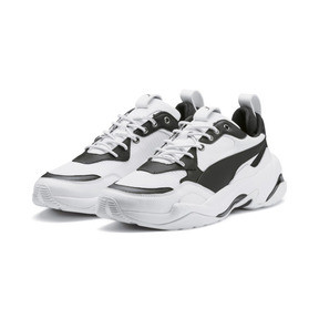 Thumbnail 2 of PUMA x THE KOOPLES Thunder Trainers, Puma White-Puma Black, medium