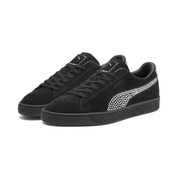 PUMA x THE KOOPLES Suede Trainers, Puma Black, large