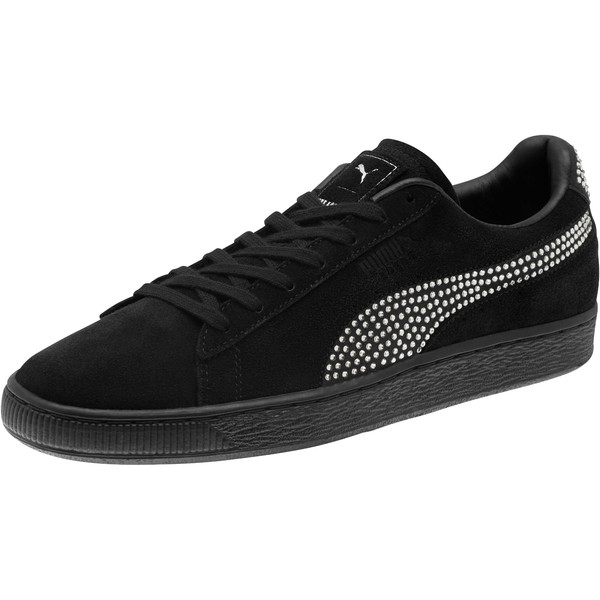 PUMA x THE KOOPLES Suede Sneakers, Puma Black, large