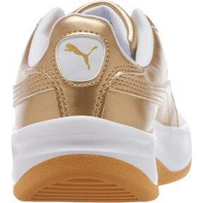 Thumbnail 4 of California Metallic Sneakers JR, Puma Team Gold-Puma White, medium