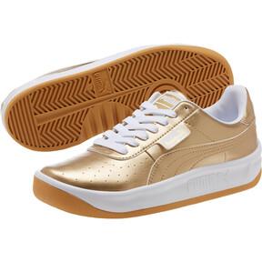 Thumbnail 2 of California Metallic Sneakers JR, Puma Team Gold-Puma White, medium