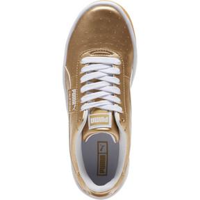 Thumbnail 5 of California Metallic Sneakers JR, Puma Team Gold-Puma White, medium