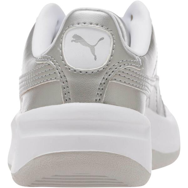 California Metallic Sneakers PS, Silver-Puma White, large