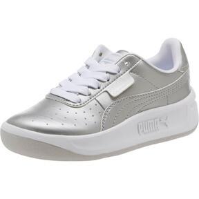 Thumbnail 1 of California Metallic Sneakers PS, Silver-Puma White, medium