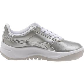 Thumbnail 3 of California Metallic Sneakers PS, Silver-Puma White, medium