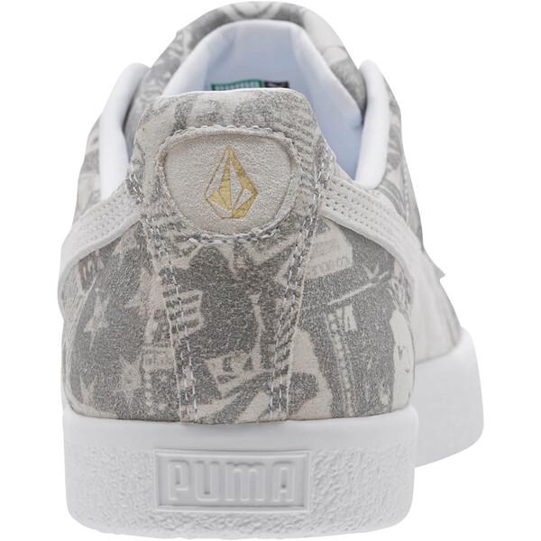 PUMA Clyde x Volcom, Puma White-Puma White, large