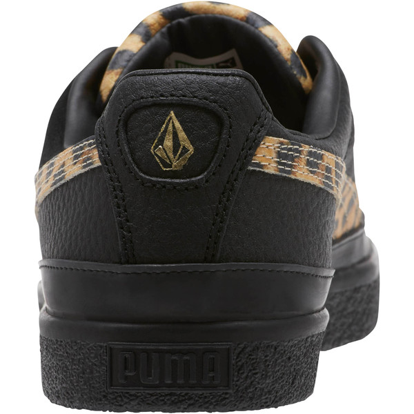 PUMA Clyde RT x Volcom, Puma Black-Puma White, large