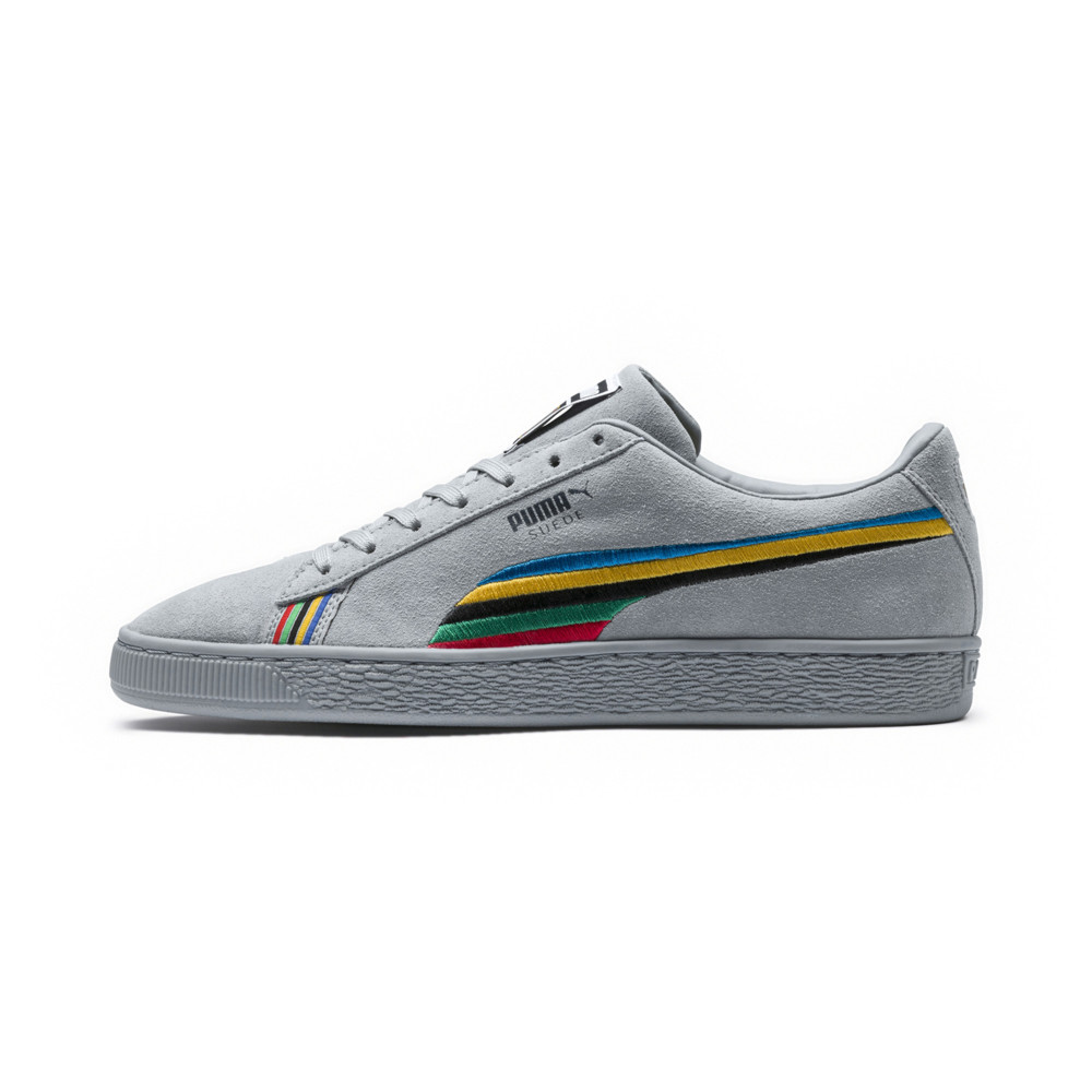 Power Peace Gray Puma Suede Through Sneakers30 Australia b67vyfIYg