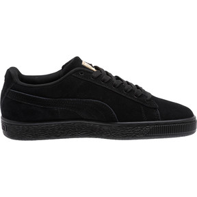 Thumbnail 3 of Suede Dragon JR Sneakers, Puma Black-Metallic Gold, medium