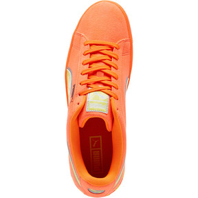 Thumbnail 5 of Puma Hazard Orange Suede Sneakers, Shocking Orange-Lemon Tonic, medium