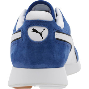 Thumbnail 4 of RS-100 Nubuck Sneakers, Black-Sodalite Blue-White, medium