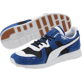 Thumbnail 2 of RS-100 Nubuck Sneakers, Black-Sodalite Blue-White, medium
